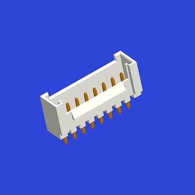 PH2.0mm間距單排帶扣T5直針