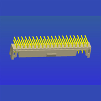 PH2.0mm間距雙排帶扣T2彎針