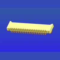 1.0mm間距E型雙面接2.0高臥貼無鎖式FPC