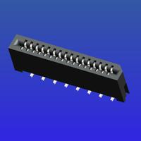 1.0mm間距C型雙面接立貼無鎖式FPC