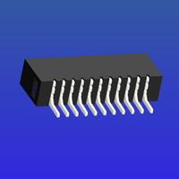 1.0mm間距A型雙面接臥貼無鎖式FPC